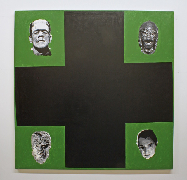, 'After Malevich (w/ Monsters),' 2013, Gastman