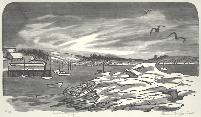 , 'Penobscot Bay or Stonington, Maine,' 1954, Childs Gallery