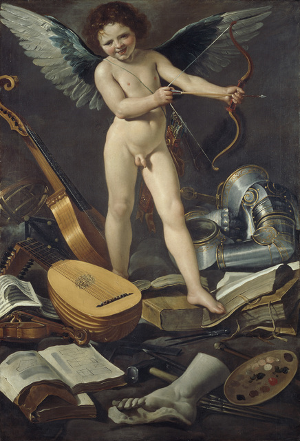 , 'Victorious Earthly Love,' 1625, The National Gallery, London