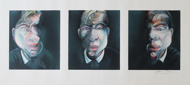 , 'Three studies for a self portrait,' 1981, Castlegate House Gallery