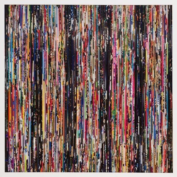 """, 'Serie Papiros """" Sofia"""",' 2012, Diana Lowenstein Gallery"""