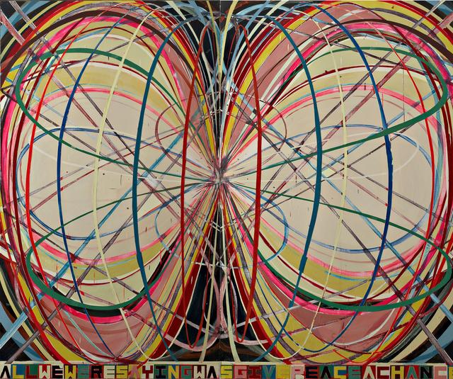 , 'Allweweresayingwasgivepeaceachance,' 2006, Collezione Maramotti