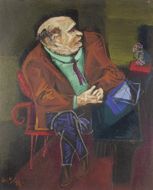 , 'Seated Senator,' 1946, ACA Galleries