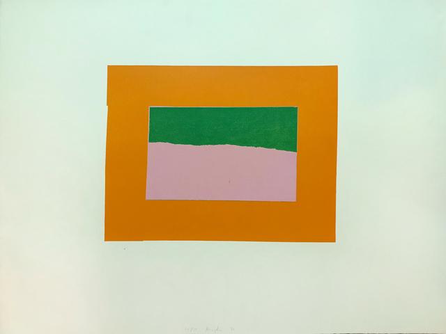 Howard Hodgkin, 'Indian Views – Plate B', 1971, Vanessa Villegas Art Advisory