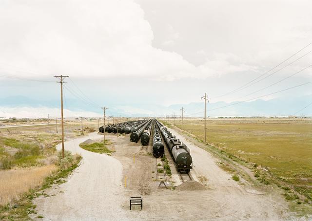 , 'Untitled (tankers), Salt lake City, Utah,' 2018, Yancey Richardson Gallery