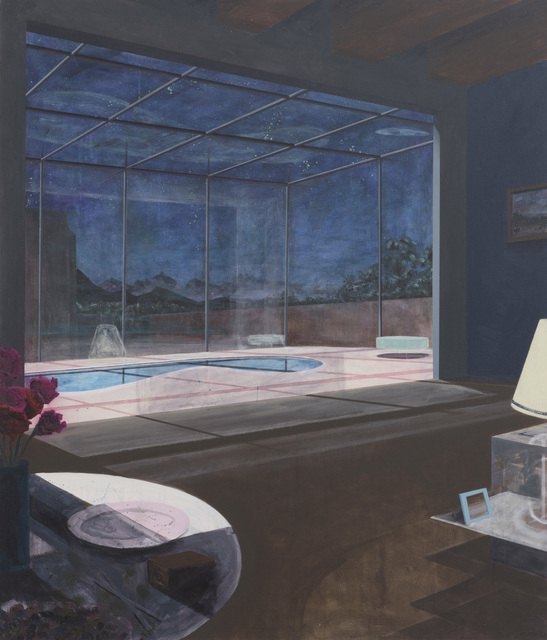 , 'Nocturnal Pool,' 2016, Samuel Freeman