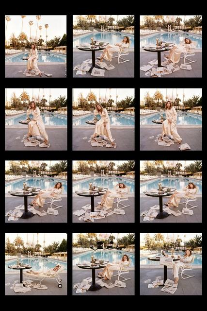, 'Faye Dunaway at the Beverly Hills Hotel ,' 1977, Box Galleries