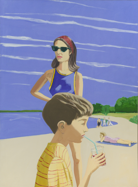 , 'Beach Scene,' 1966, Edward Tyler Nahem Fine Art LLC