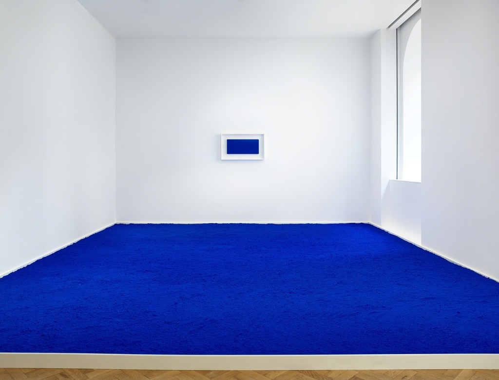Yves Klein, 'Pigment pur bleu (PIG 1)', Original artwork 1957, Re-creation 2018