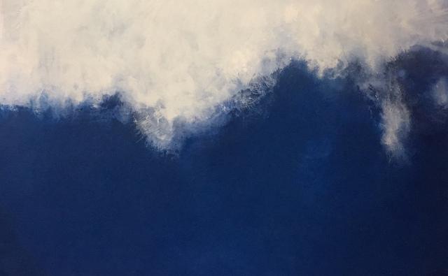 , 'Blue V ,' 2018, Cheryl Hazan Gallery