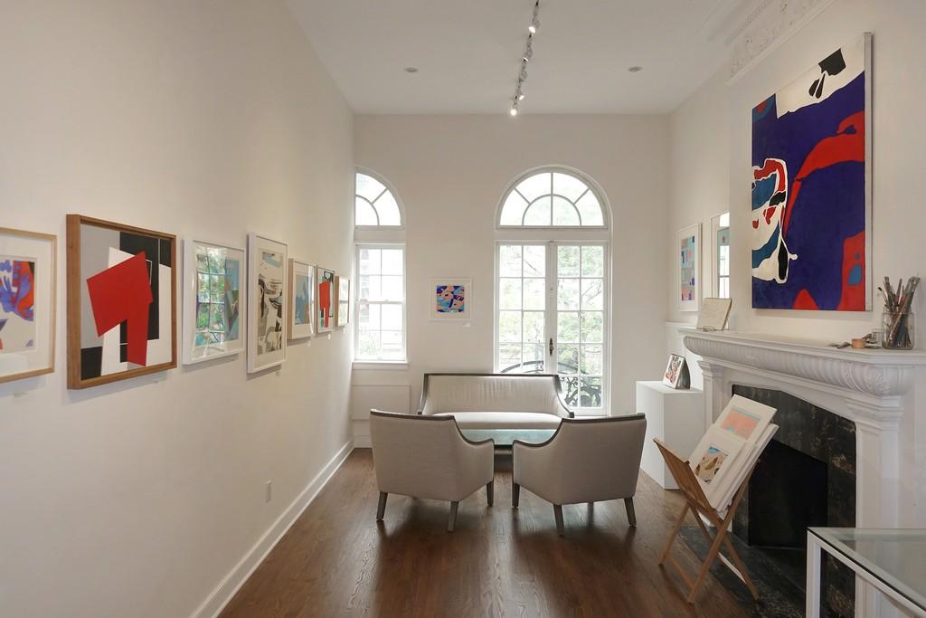 "Installation view: ""George Vranesh: Kaleidoscopic Modernism"""