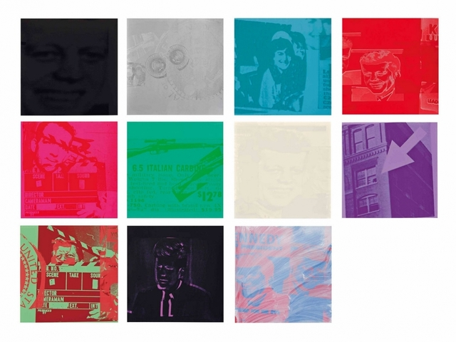 Andy Warhol, 'Portfolio of eleven screenprints with screenprint cover', 1963, Robert Fontaine Gallery
