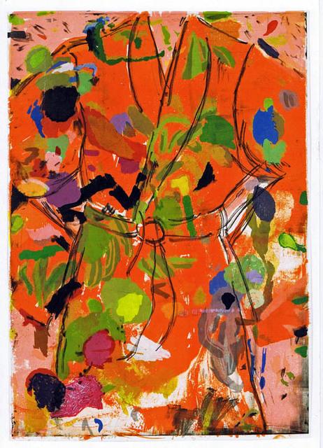 , 'The Orange Birthday Robe,' 2010, Galerie Maximillian