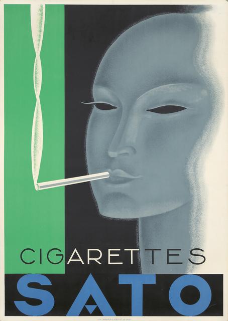 , 'Cigarettes Sato.,' 1933, Rennert's Gallery