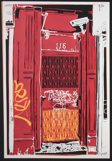 , 'NYC Doorway 1,' 2012, Marion Gallery