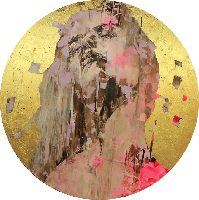 Marco Grassi, 'Kameo 32', 2020, Mixed Media, Oil and gold leaf on aluminium, Taglialatella Galleries
