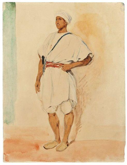 , ' A Standing Moroccan Man,' , Stephen Ongpin Fine Art