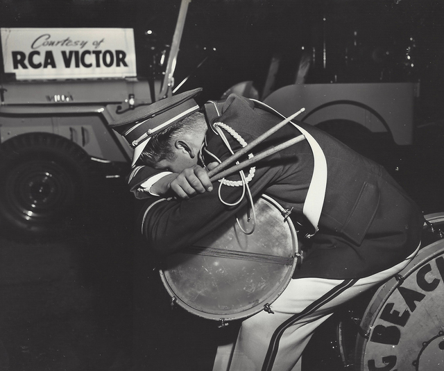 Weegee, 'And the band played on, Hollywood', ca. 1951, Elizabeth Houston Gallery