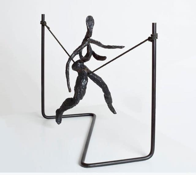 , 'Tightrope Worker (Woman on Cord),' 1944, Faessler & Ochsner