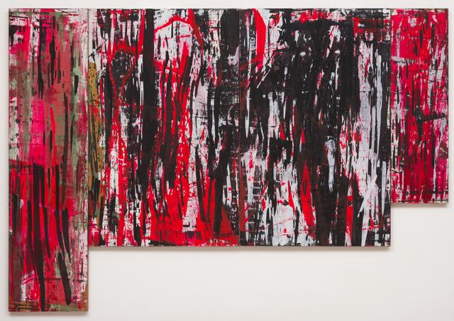 Ed Moses, 'Red W-L', 1982, Albertz Benda