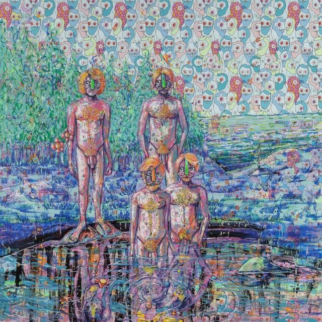 , 'Reflecting Patterns,' , Ro2 Art