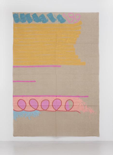 , 'Tre linee con arabesco n.199,' 1991, Casey Kaplan