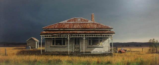John Toomer, 'Deserted Farmhouse in the Maniototo', 2019, Black Door Gallery