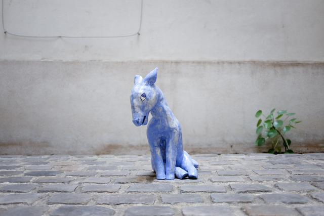 , 'Little blue horse,' 2018, Antonine Catzéflis