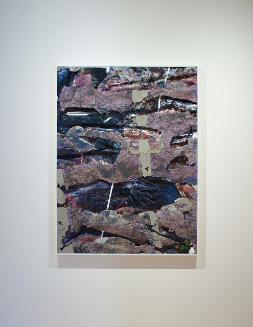 , 'Hawaii Lava Concrete Bend,' 2014, MASS MoCA