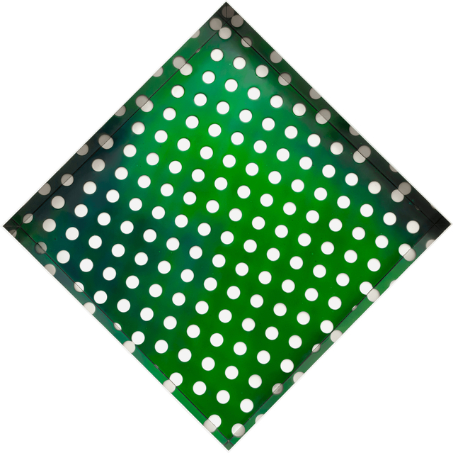 , 'Kamigami green square,' 2016, ABC-ARTE