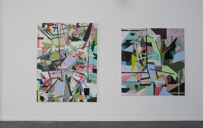 Elad Kopler, installation view