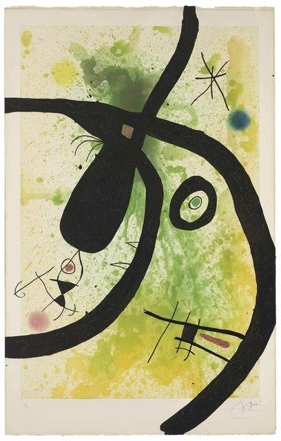 Joan Miró, 'Le Chasseur de Pieuvres', 1969, Christie's