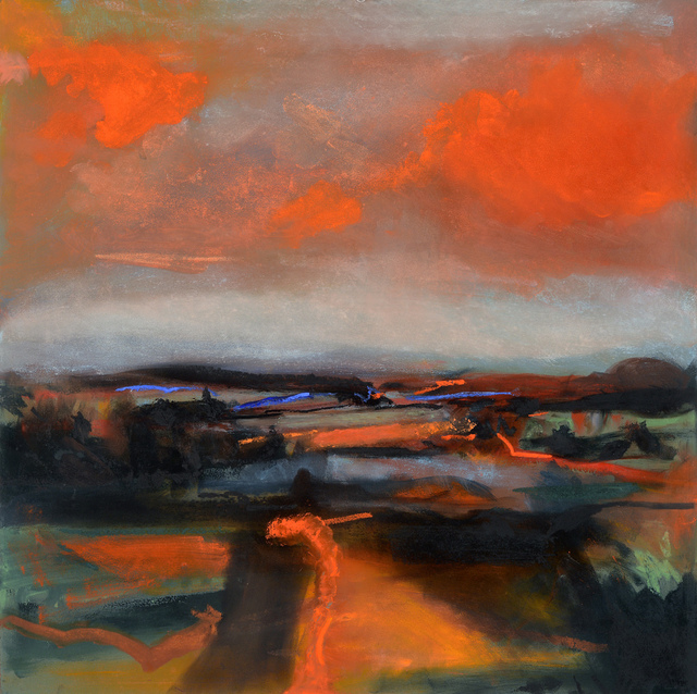 , 'Red Sky,' 2017, Wallace Galleries