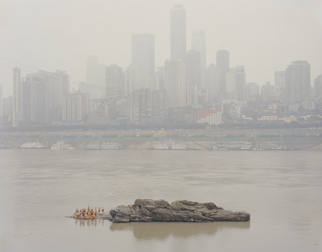 , 'Stone in the middle of the river, Chongqing,' 2013, La Galerie Paris 1839