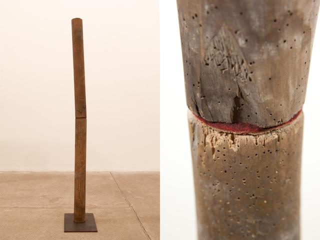, '151 x 31 x 23 (broken spine),' 2011, Galleria Raffaella Cortese