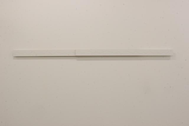 , 'Gebrochene Linie (Verschiebung),' 1999, Galleria Doris Ghetta