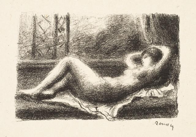 Pierre-Auguste Renoir, 'ODALISQUE', ca. 1904, Christopher-Clark Fine Art