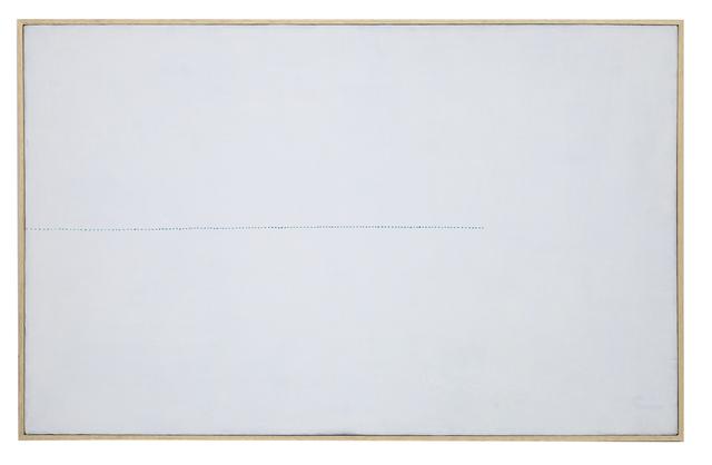 , 'Da l'orizzonte: una variazione azzurro-verde,' 1985, Dep Art