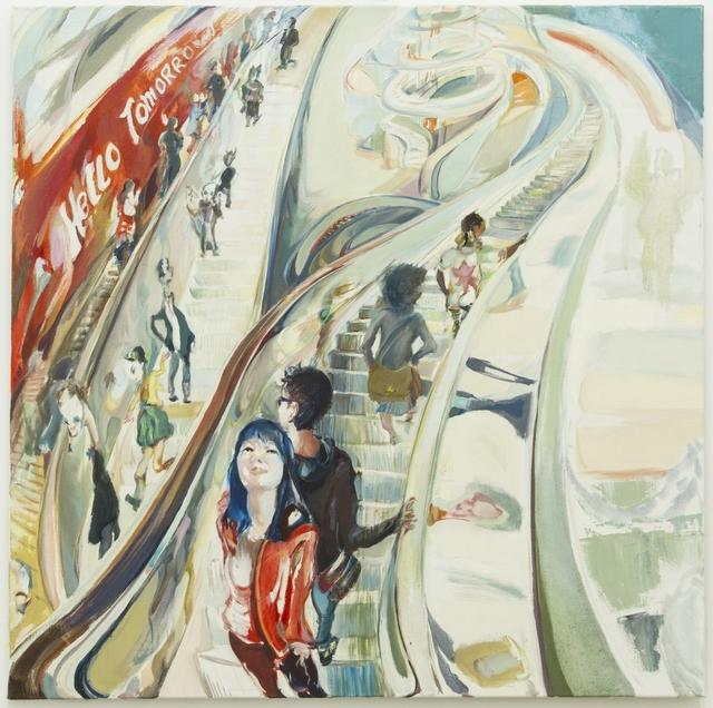 , 'Rolltreppe I,' 2012, Galerie Elisabeth & Klaus Thoman