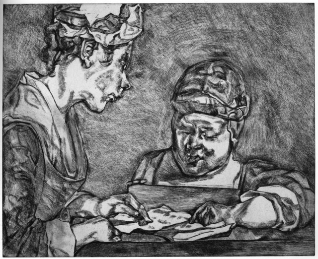 Lucian Freud, 'After Chardin', 2000, Marlborough Graphics