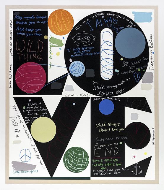 David Spiller, 'In my heart (LOVE)', 2017, Kunzt Gallery