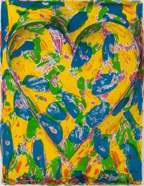 Jim Dine, 'Blue Heart, from the 2005 Suite', 2005, Heritage Auctions