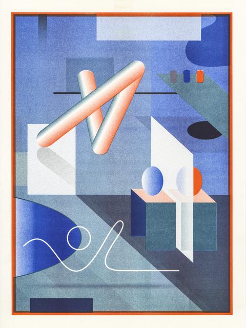 , 'Work Hard Play Hard #2,' 2016, Galerie Kleindienst