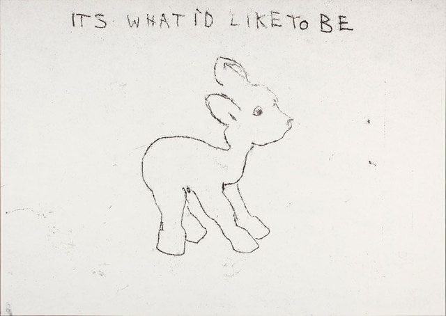 Tracey Emin, 'It's What I'd Like to Be', 1998, Rhodes