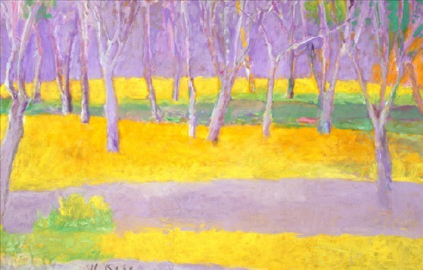 , 'Tree Trunks on a Rise,' 2002-2004, Cavalier Galleries