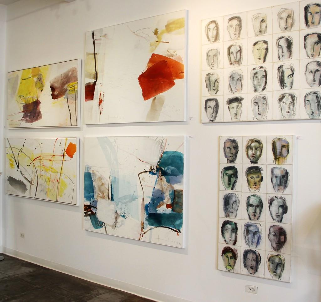 Greet Helsen and Bernhard Zimmer artworks