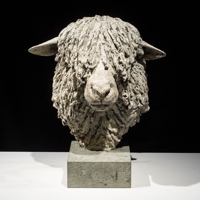 , 'Cotswold Ram Head ,' 2015, Candida Stevens Gallery