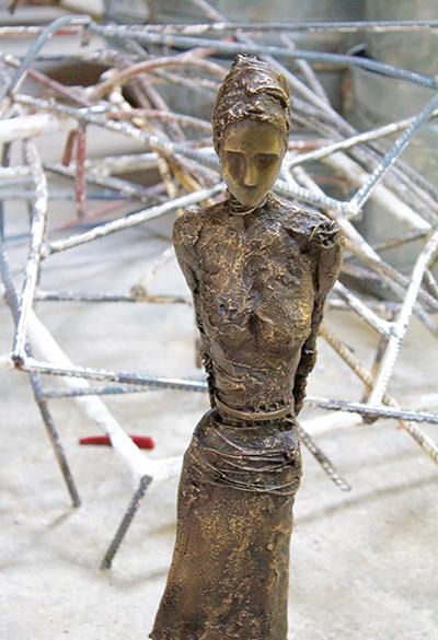 Anne De Villeméjane, 'Walking Woman - Bust', Galerie Vivendi