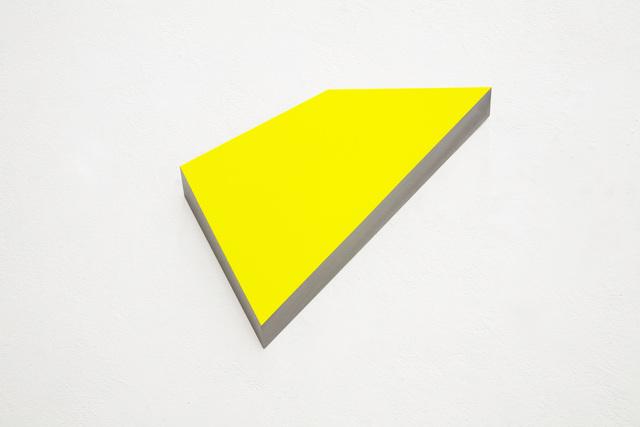 , 'O.T. cadmium yellow,' 2010, Galeria Raquel Arnaud