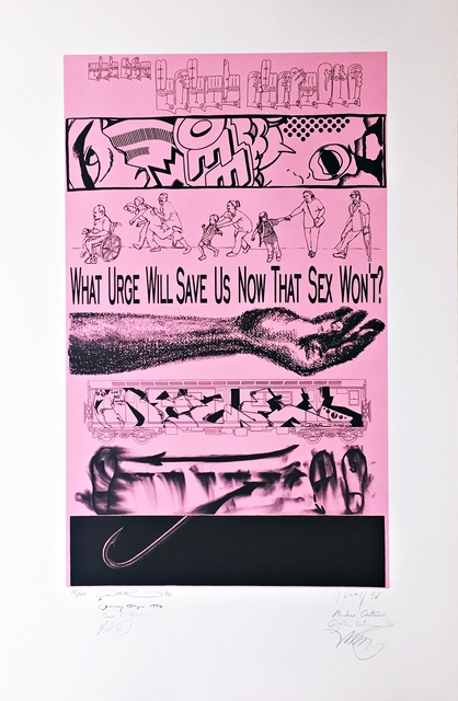 Martin Wong, 'The Usual Suspects (Unique One-Off Collaboration; Hand Signed by all Eight Artists)', 1996, Alpha 137 Gallery
